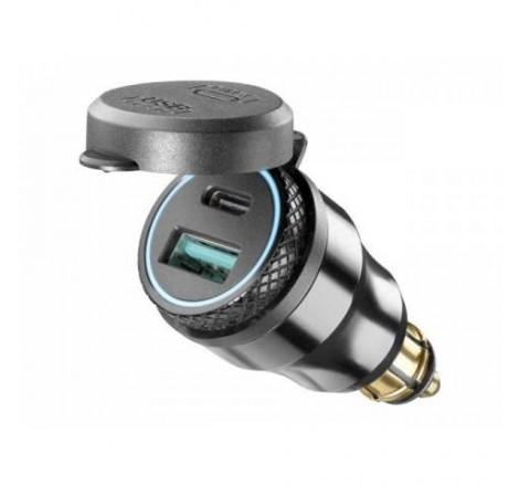 ADAPTADOR USB DIN-1 USB+USB...