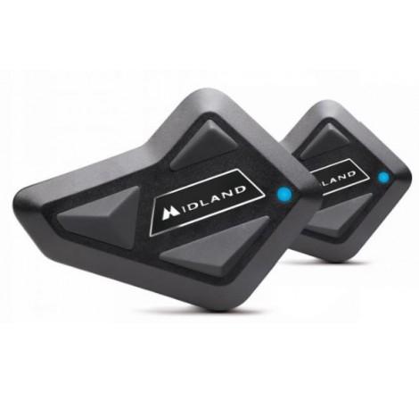 Intercomunicador Midland Bt Mini Pack Doble Portada