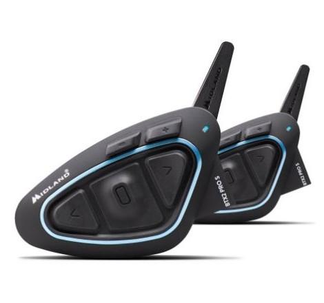 Intercomunicador Midland BTX2 Pro S Pack Doble Portada