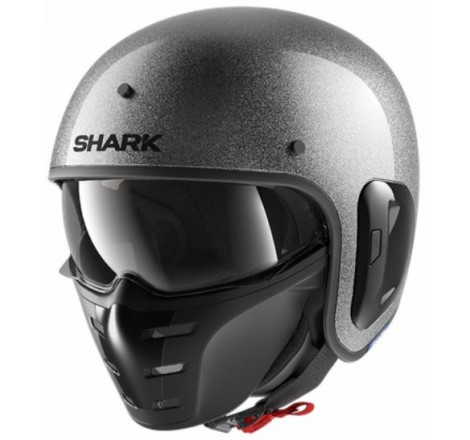 CASCO HJC ISMAX II UNI METAL BLACK