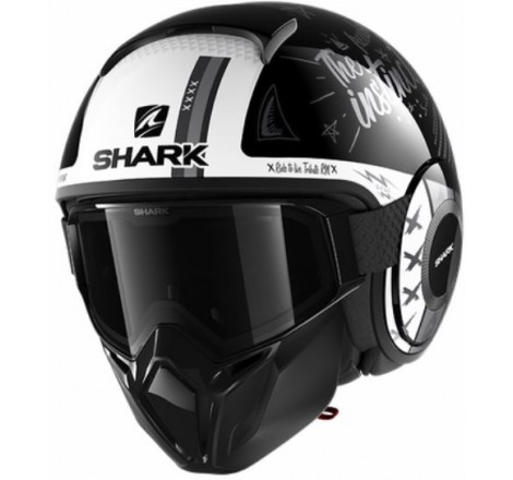 CASCO HJC IS33 II UNI SEMI FLAT TITANIUM