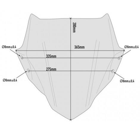 A5125 Cúpula específica ahumada 28 x 36,5 cms (hxa) Portada