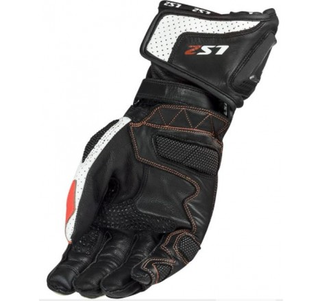 GUANTES FASTER RIDING BLACK/WHITE