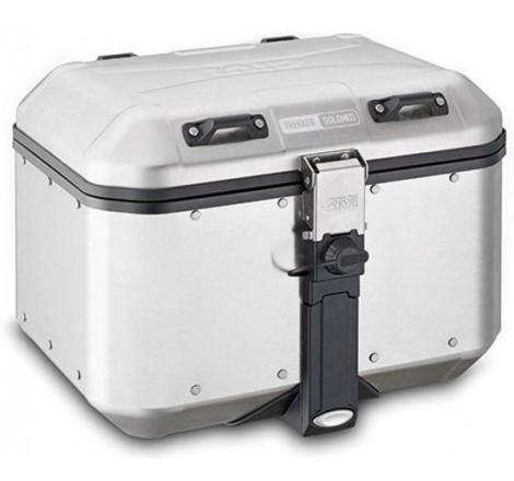 Maleta Monokey® Trekker  Dolomiti 46 L. en Aluminio Natural