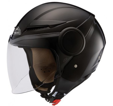 CASCO TRIAL UNIK CT-07 CON GAFA NEGRO MATE