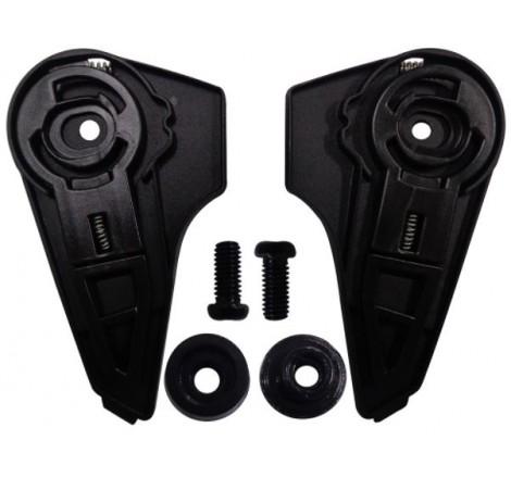 LS2 FF353 RAPID POPPIES BLACK WHITE