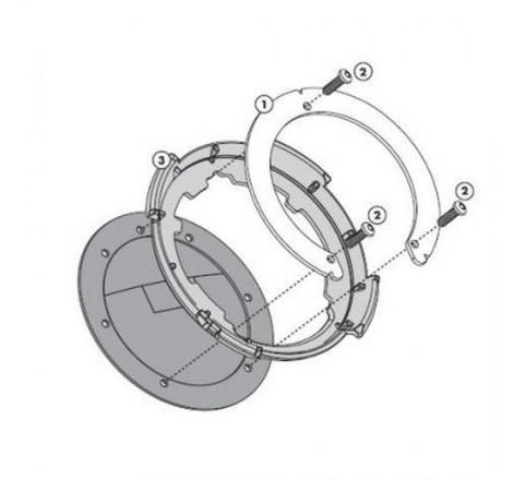 CANDADO URBAN CABLE ESPIRAL+SOPORTE Ø 8