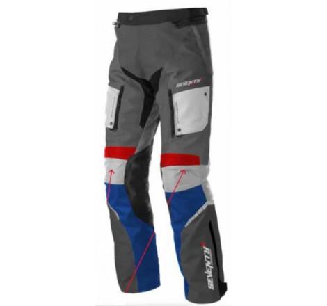 Pantalón SD-PT3 Gris Rojo Azul Portada