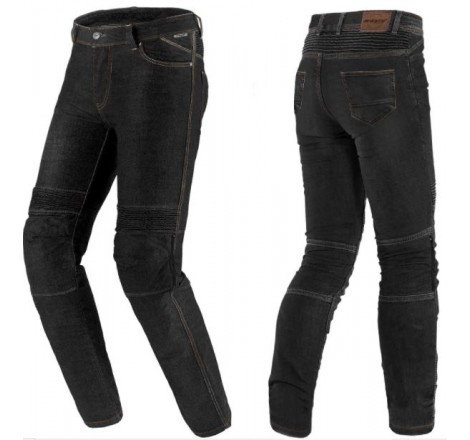 Pantalón Vaquero Hombre SD-PJ6 Slim Fit Negro Portada