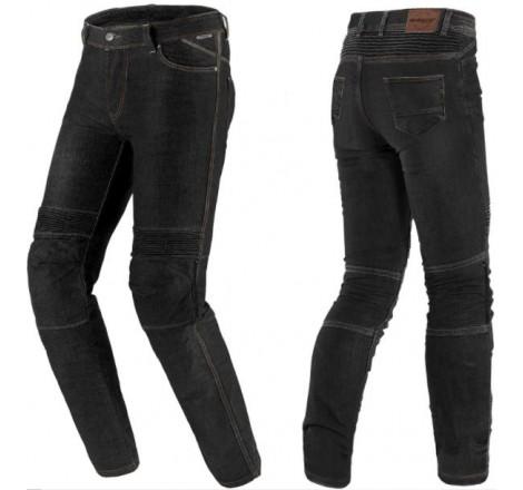 Pantalón Vaquero Mujer SD-PJ8 Slim Fit Negro Portada