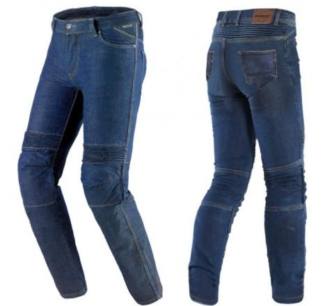 Pantalón Vaquero Mujer SD-PJ8 Slim Fit Azul oscuro Portada